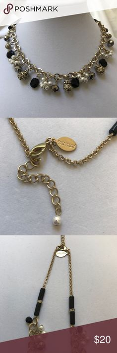 """WHITE HOUSE BLACK MARKET NECKLACE NWOT WHBM NECKLACE. GOLD IN COLOR. HAS EXTENDER TO ADJUST LENGTH. APPROX  18"""". SORRY NO TRADES. White House Black Market Jewelry Necklaces"""