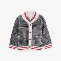 513aef739b8 Pumpkin Pie Kids · Boys Clothing · Hatley Shawl Collar Cardigan - Black