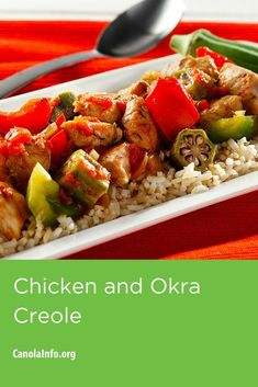 This Cajun-inspired dish makes a great one-dish meal. It''s packed with tons of flavor, fast to make, and even faster to clean up. Only one skillet required.   Try Chicken and Okra Creole.