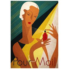 Pour Moil | A3 Print by High Fashion Accents on THEHOME.COM.AU