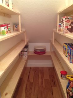 Under Stairs Pantry Shelving