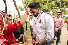 Owner of Jaipur Pink Panthers - Abhishek Bachchan at Moti Dungri Ganesh Temple | City of Jaipur