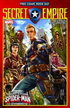 Confirmed, Marvel To Publish Secret Empire For Free Comic BooK Day, With Spectacular Spider-Man