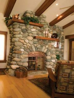 Another wow fireplace.    HartmanBaldwin Design/Build  Bassett Residence  http://www.hartmanbaldwin.com