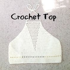 crochet top tutorial with triangle detailing 2.5mm hook 100 acrylic yarn 8ply hope you like it :)
