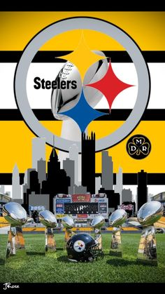 On the way to seven ! Steelers Images, Pitsburgh Steelers, Here We Go Steelers, Pittsburgh Steelers Wallpaper, Pittsburgh Steelers Football, Pittsburgh Sports, Super Bowl, Funny Basketball Memes, Nfl Logo