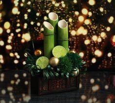 Новогодняя композицияиз фоамирана