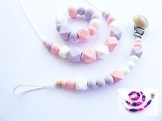 Hey, I found this really awesome Etsy listing at https://www.etsy.com/listing/562274277/baby-teething-necklace-silicone-dummy