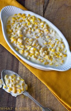 This Creamed Corn recipe from Lawry's is ready in under 15 minutes, leaving plenty time for other more important tasks on Thanksgiving, like basting your bird, stirring gravy or chatting with Aunt ...