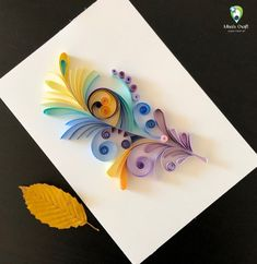 Items similar to World of Feathers- Series 1 / Feather/ Feather Wall Decor/ Boho Decor/ Feather Art/ colorful wall art Decor/ Home Decor/ Quilling/ Paper on Etsy