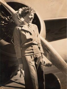 Amelia Earhart, Undated Photograph (Source: Kranz)