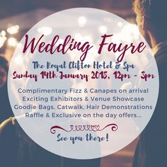 Wedding Fayre at The Royal Clifton Hotel & Spa  #Wedding #WeddingFayre #Southport #WeddingVenue #WinterWedding #BurgandyWedding #January2018 #January2018WeddingTrends #Newfor2018Wedding #2018WeddingTrends #Spring2018Wedding #Winter2018Wedding #BalmoralSuite #WeddingsInSouthport #WindsorSuite #BridalShow #Catwalk #WeddingHair #WeddingMakeUp