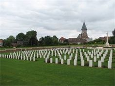 Pheasant Wood CWGC Cemetery, Fromelles