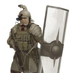 Roman Male Soldier