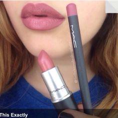 Whirl lip liner, twig lipstick.
