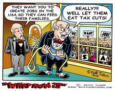 Let them eat... tax cuts!