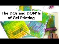 Gelli Arts® Printing with Styrofoam Plates Mixed Media Techniques, Mixed Media Tutorials, Styrofoam Plates, S Youtube, Gel Press, Cloth Paper Scissors, Gelli Plate Printing, Gelli Arts, Tricks