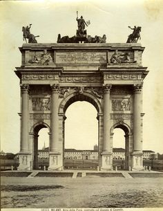 Old architectural photography Fantasy The Arco Della Pace Milan Italy History Neoclassical Architecture Verona Pisa Andrew Prokos 87 Best Old Architectural Photography Images Architectural