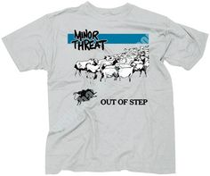 Minor Threat t-shirt.. I f.....g <3 t-shirts!!! They are just so comfortable and awesome! :) T-shirt and jeans: The perfect combination (my-not only-everyday style)! <3