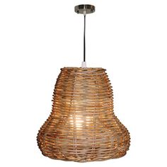 Seabrook Rattan Pendant at Joss & Main