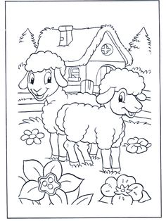 Keep Your Kids Entertained with Thousands of Easter Coloring Pages: Coloring Book's Free Easter Coloring Sheets Easter Coloring Pictures, Free Easter Coloring Pages, Easter Coloring Sheets, Spring Coloring Pages, Easter Colouring, Cute Coloring Pages, Animal Coloring Pages, Free Printable Coloring Pages, Coloring For Kids