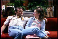 Lisa Loopner and Todd DiLaMuca