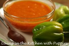 Living in the Kitchen with Puppies: Some Like it Hot: Pineapple Habanero Hot Sauce!