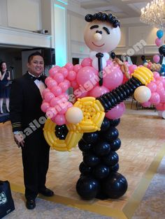 """""""Party People"""" can be used at almost every event. This """"Doo Wop Guy"""" was created specifically for a 50's theme party."""