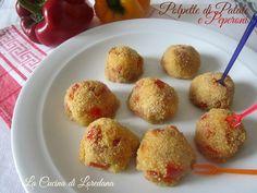Polpette Patate e Peperoni | La Cucina di LoredanaLa Cucina di Loredana