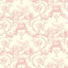 Interior Place - Pink Lamby Toile Wallpaper, $27.75 (http://www.interiorplace.com/pink-lamby-toile-wallpaper/)