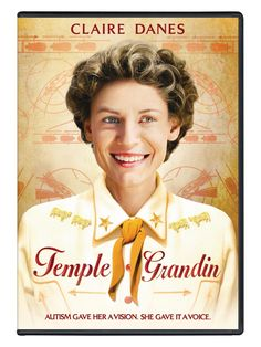 Movie / DVD ~ Temple Grandin:  Temple Grandin is an engaging portrait of an autistic young woman who became, through timely mentoring and sheer force of will, one of America's most remarkable success stories.