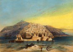 Vue générale d'Alger, Chandelier dessinateur et Walter lithographe
