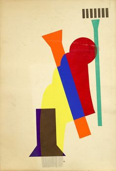 Concrete Mixer (Revolving Doors). 1916–17 -Man Ray (Emmanuel Radnitzky, 1890 – 1976) was an American modernist artist who spent most of his career in Paris, France. This print, inspired by mechanical forms and the play of light and shadow against irregular surfaces, recalls Man Ray's experiments in film and photography. This print reinvents cut-paper collages that he created in NY in 1916–17, and 1st exhibited in frames attached to a central post so they rotated like revolving doors.