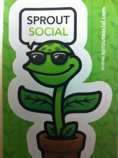 Sprout Social stickers