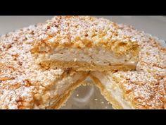 Joghurt, Mehl und Eier, super Cremekuchen! / Super CREAMY Kuchen! - YouTube Food Cakes, Cake Recipes, Dessert Recipes, Decadent Cakes, Sweet Cakes, Yummy Cakes, Sweet Treats, Cooking Recipes, Yummy Food