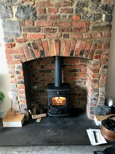 Hi-flame Baby Gabriel stove is DEFRA and HETAS approved. Gabriel, Stove, Home Appliances, Wood, Baby, Cooking Stove, House Appliances, Madeira, Woodwind Instrument