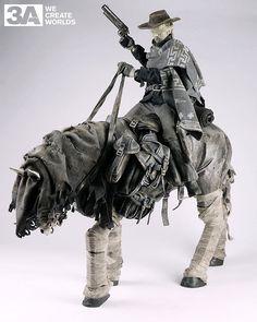 blind cowboy ghost horse