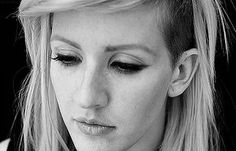 Meanwhile, Ellie Goulding's cut seems to transcend both space and time. | In Appreciation Of All The Ladies Rocking An Undercut