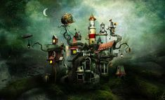 Alexander Jansson is a Swedish artist born Upssala and now living Gothenburg. He has an amazing number of skills : illustration, character design, concept art and graphic design. His creations have a very special atmosphere both dark and poetic. You can find dozens of other works on his portfolio and on DeviantArt.