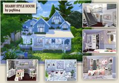 Sims 4. Shabby Style House. - pqSim4