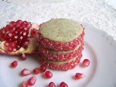 Pomegranate White Tea Cookies