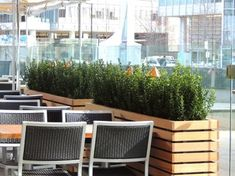 Modern Restaurant Patio images