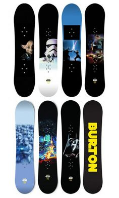 Star Wars Snowboards From Burton!