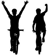 stock-illustration-12659111-silhouettes-of-mountain-bike-cyclists-winning-the-race.jpg (171×190)