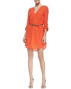 Joie Rathana Cotton V Neck Dress http://sharonruizstuff.tumblr.com/post/84827924405/joie-rathana-cotton-v-neck-dress