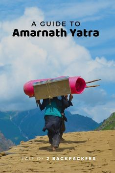 Amarnath Yatra - The Pilgrimage India Travel, Us Travel, Amarnath Temple, Bank Branch, Srinagar, Warm Outfits, Pilgrimage, Incredible India, The Locals