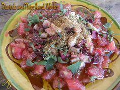 TODAS LAS RECETAS : Ensalada de verano con tomate, calabacín y remolac...