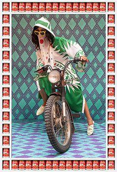 mediapicnic:  モロッコ女性の暴走族のフッションが超クール!!! | @Atsuhiko Takahashi (アットトリップ)