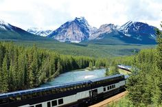 #Canada by rail: River rapids, bear sightings and freezing ice fields - it's an adventure-packed train journey #travel