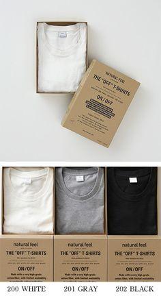 """【THE """"OFF"""" T-SHIRT(中川政七商店)】/透けにくく、繰り返し洗濯しても型崩れせず、着れば着るほど肌に馴染む。そんなTシャツを目指し生地からオリジナルで作ったのが『THE """"OFF"""" T-SHIRT』です。スタイリスト伊賀大介氏が監修、細部のサイズ感にまでミリ単位でこだわっています。ややゆとりを持たせた襟ぐりとボディが、リラックス感ある着心地を生み出しています。"""